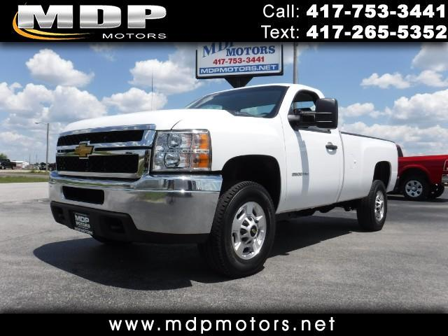 2013 Chevrolet Silverado 2500HD LONG BED 4X4 6.0 GAS