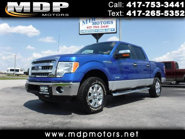 2014 Ford F-150 CREW/SHORT 4X4 ECOBOOST