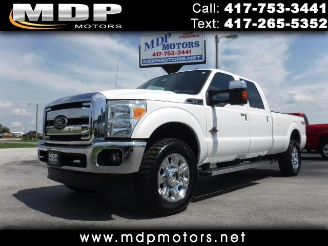 2012 Ford F-350 SD Lariat Crew Cab Long Bed 4WD Diesel
