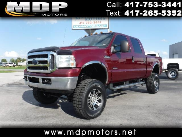 2005 Ford F-350 SD XLT CREW/SHORT LIFTED 4X4 DIESEL