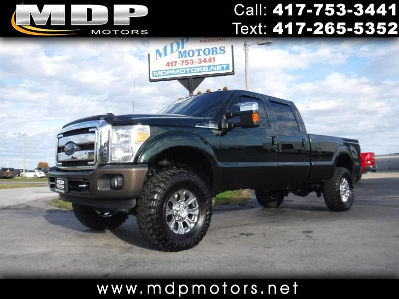 2015 Ford F-350 SD LARIAT, CREW/LONG, LIFTED, DIESEL