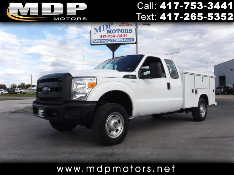2012 Ford F-250 SD SUPERCAB, 4X4, UTILITY BED
