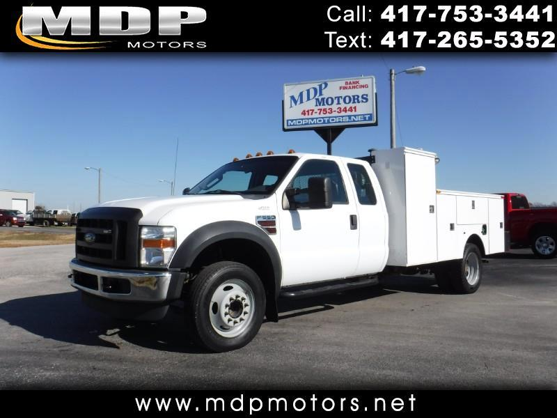 2008 Ford F-550 SUPERCAB, UTILITY BED, WELDER, GENERATOR, TORCH