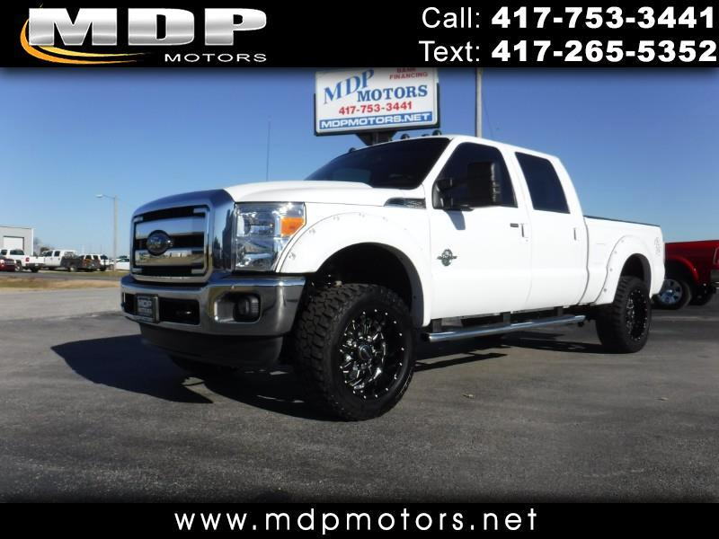 2013 Ford F-250 SD LARIAT, CREW/SHORT, DELETED