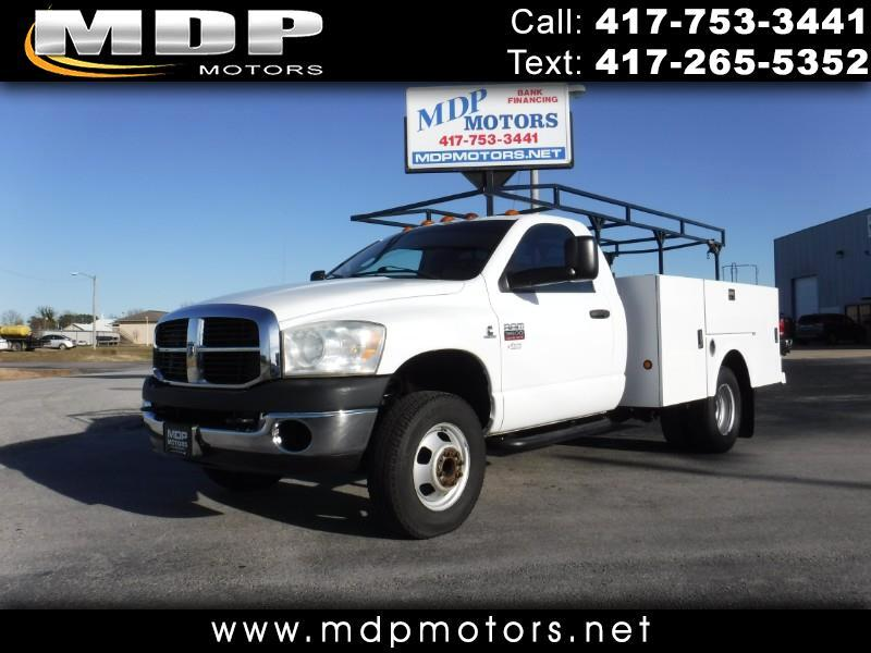 2007 Dodge Ram 3500 REG CAB, DIESEL, 6 SPEED, UTILITY BED