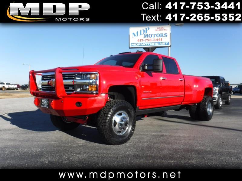 2015 Chevrolet Silverado 3500HD LTZ , CREW, 4X4, DIESEL, LIFTED