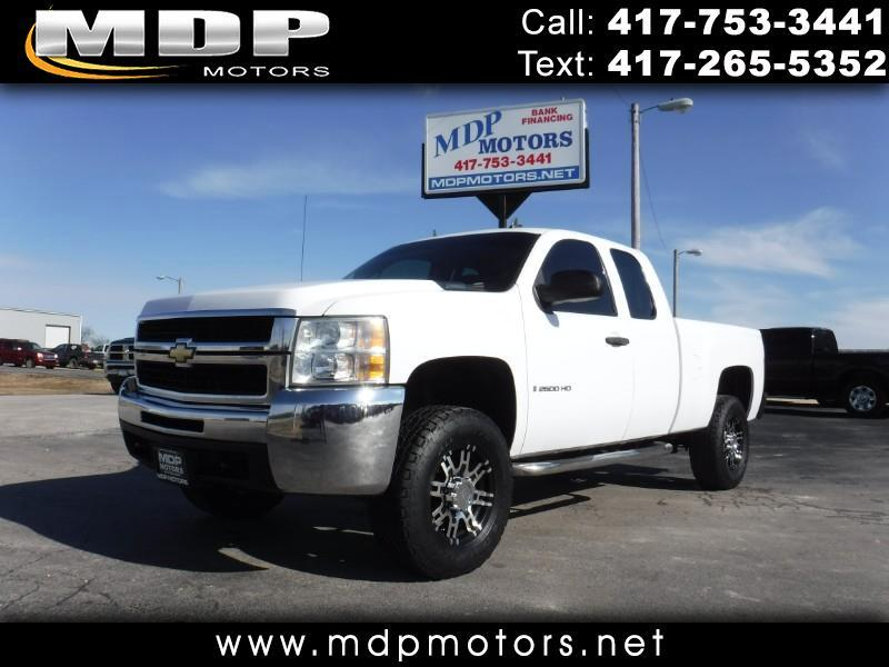 2008 Chevrolet Silverado 2500HD EXT CAB, SHORT BED, 4X4
