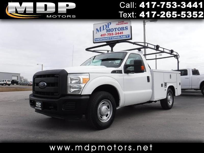 2012 Ford F-350 SD XL, KNAPHEIDE UTILITY BED, 6.2L GAS
