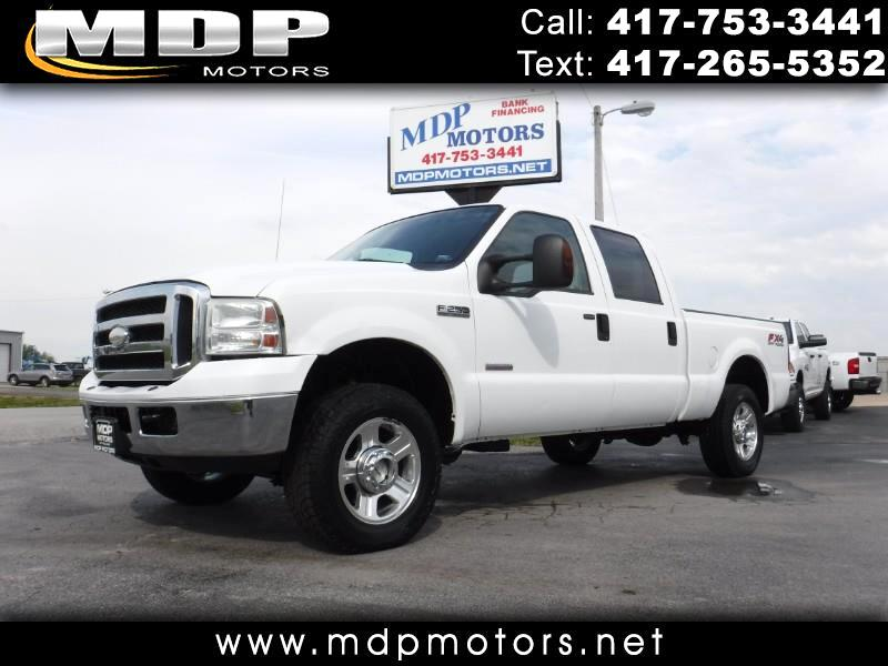 2006 Ford F-250 SD CREW CAB, SHORT BED, LARIAT, 4X4, DIESEL
