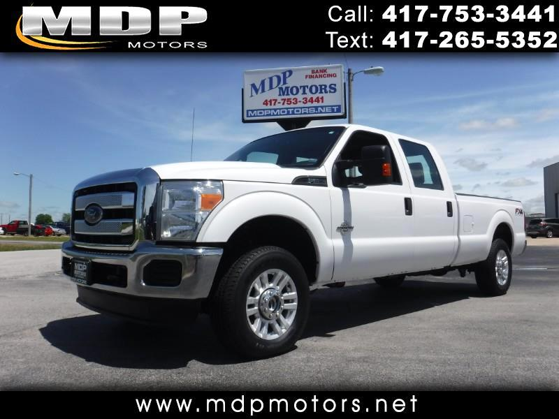 2014 Ford F-250 SD CREW CAB, LONG BED, 4X4, DIESEL