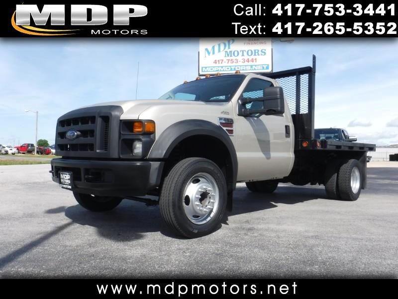 2009 Ford F-450 SD 10FT FLATBED, DIESEL,