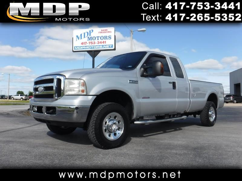 2005 Ford F-250 SD XLT SUPERCAB, LONG BED, 4X4 DIESEL