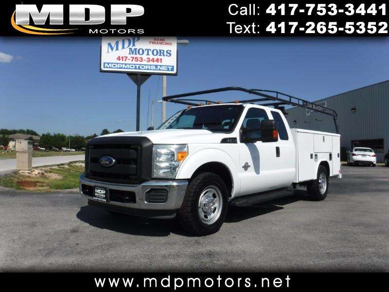 2011 Ford F-350 SD XL, SUPERCAB, UTILITY BED, DIESEL