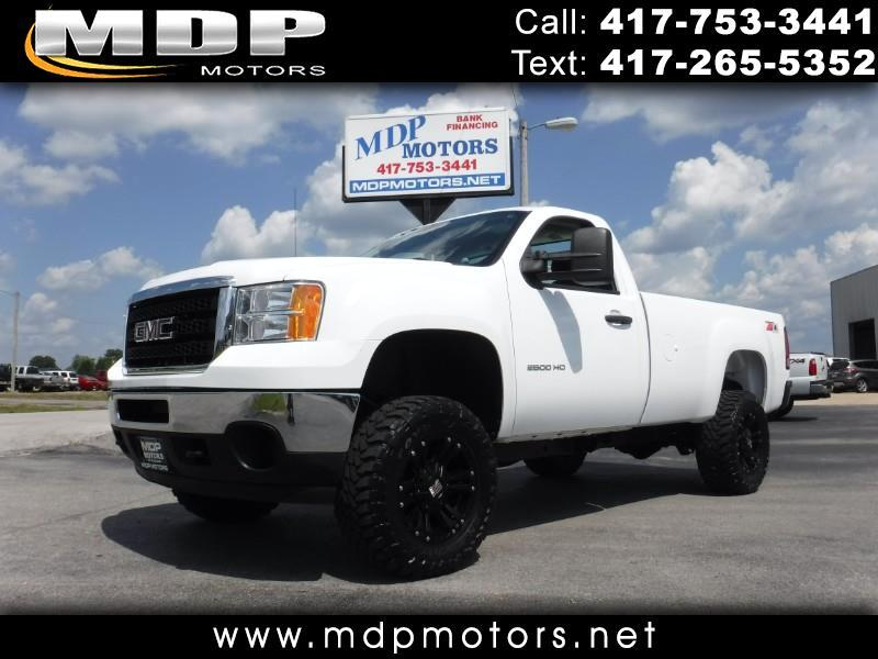 2014 GMC Sierra 2500HD REG CAB, LONG BED, 4X4, 6.0L GAS