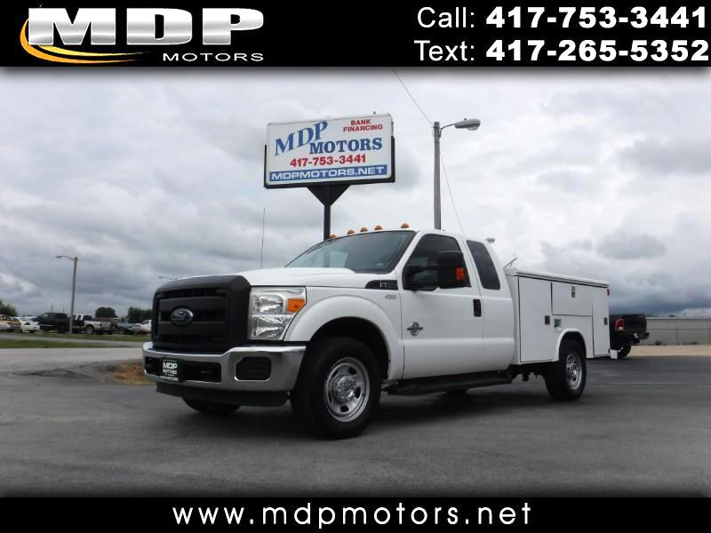 2015 Ford F-350 SD XL, EXT CAB, UTILITY BED, DIESEL