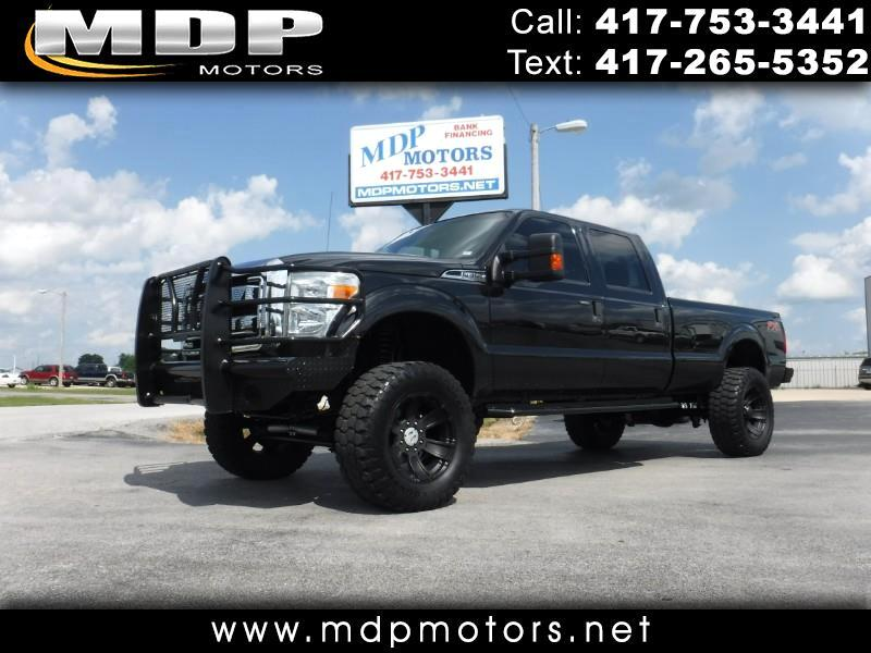 2012 Ford F-350 SD XLT, CREW, DIESEL, 4X4, LIFTED