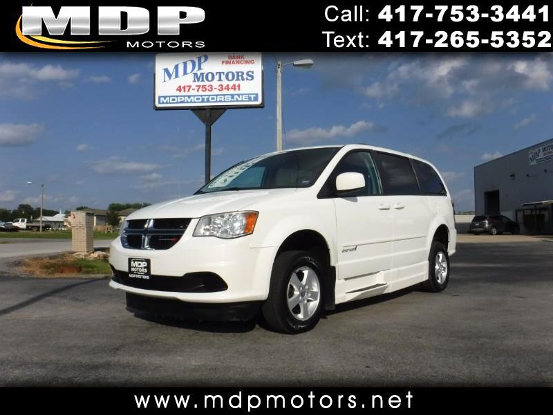 2013 Dodge Grand Caravan SXT, WHEELCHAIR CONVERSION