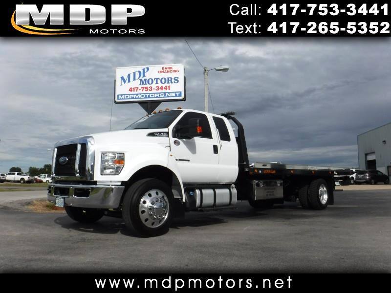2019 Ford F-750 SUPER CAB, 21FT JERR-DAN ROLLBACK