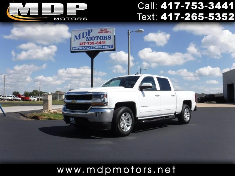 2016 Chevrolet Silverado 1500 LT, CREW CAB, SHORT BED, 4X4