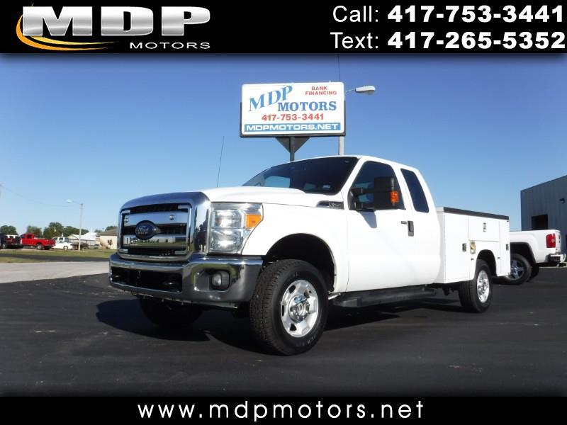 2012 Ford F-250 SD XLT, SUPERCAB, UTILITY BED, 4X4