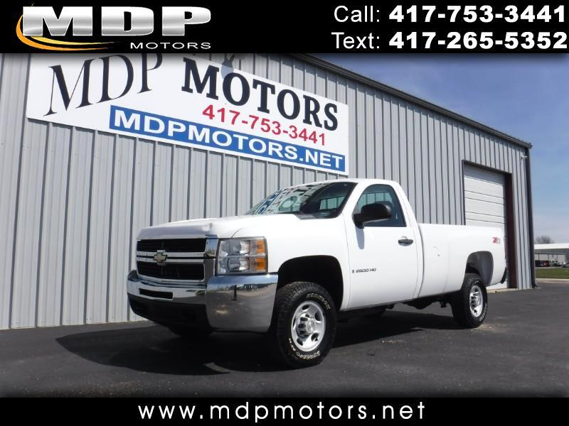 Chevrolet Silverado 2500HD Work Truck Long Box 4WD 2009