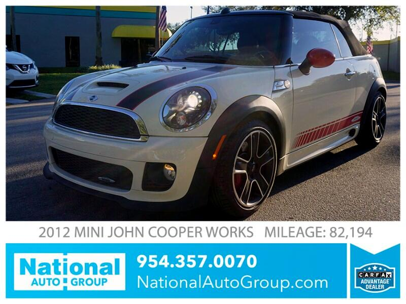 2012 MINI Cooper John Cooper Works Convertible
