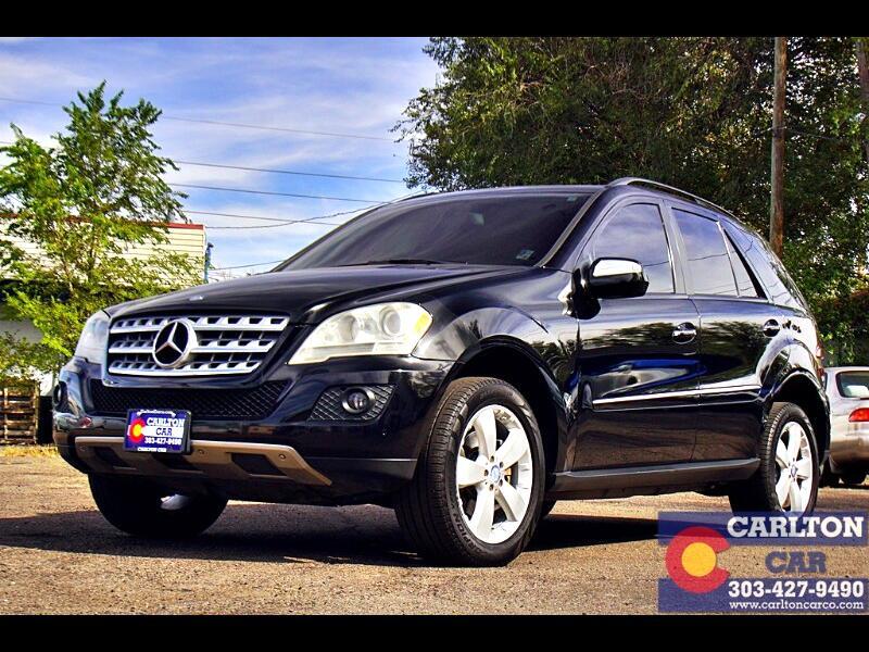 2009 Mercedes-Benz M-Class ML350 4MATIC