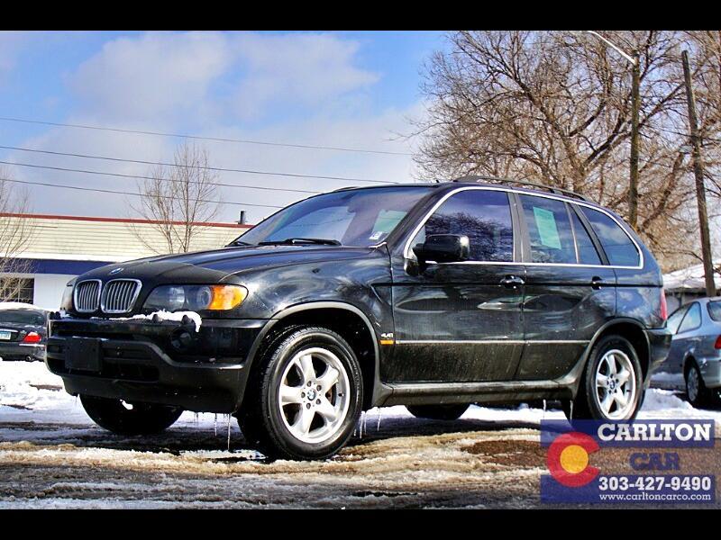 BMW X5 4.4i 2001