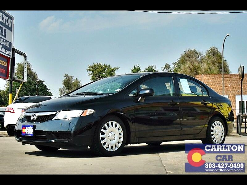 Honda Civic LX Sedan 5-Speed AT 2011