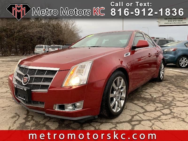 2008 Cadillac CTS 3.6L SIDI