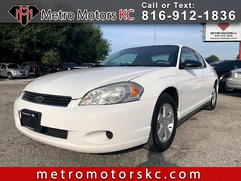 Used 2006 Chevrolet Monte Carlo Lt 3 5l In Independence Mo Auto Com 2g1wm15k769242838