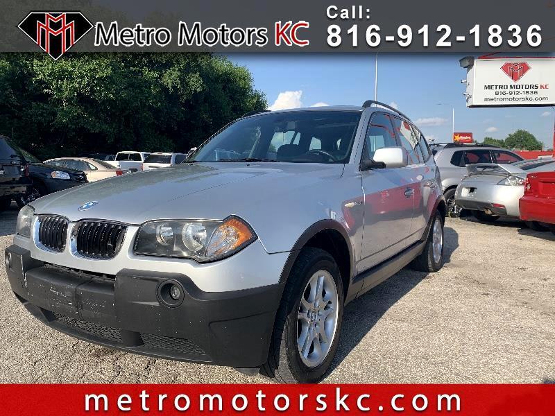 BMW X3 2.5i 2005