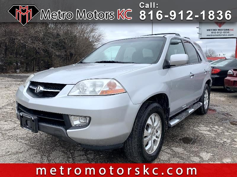 Acura MDX Touring with Navigation System 2003