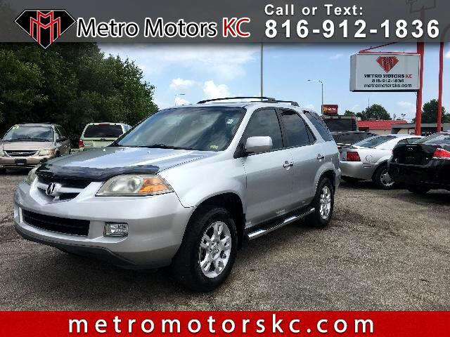 Acura MDX Touring with Navigation System 2006