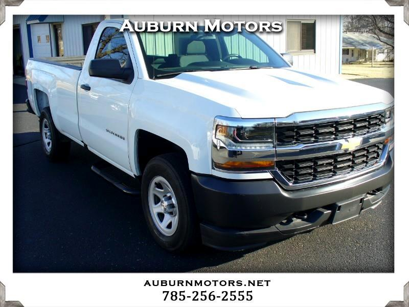 Chevrolet Silverado 1500 Work Truck Long Box 4WD 2018