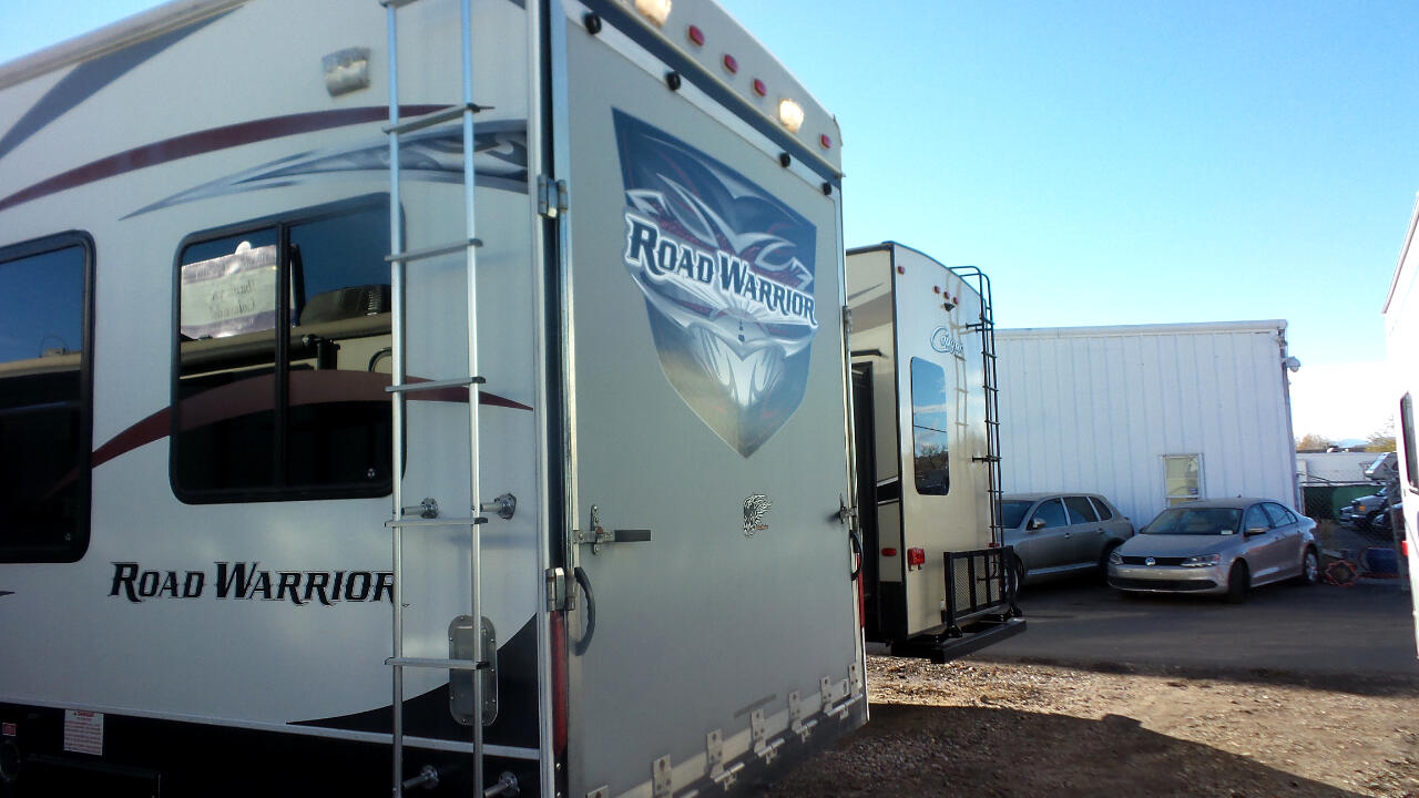 2012 Heartland Road Warrior Toy Hauler