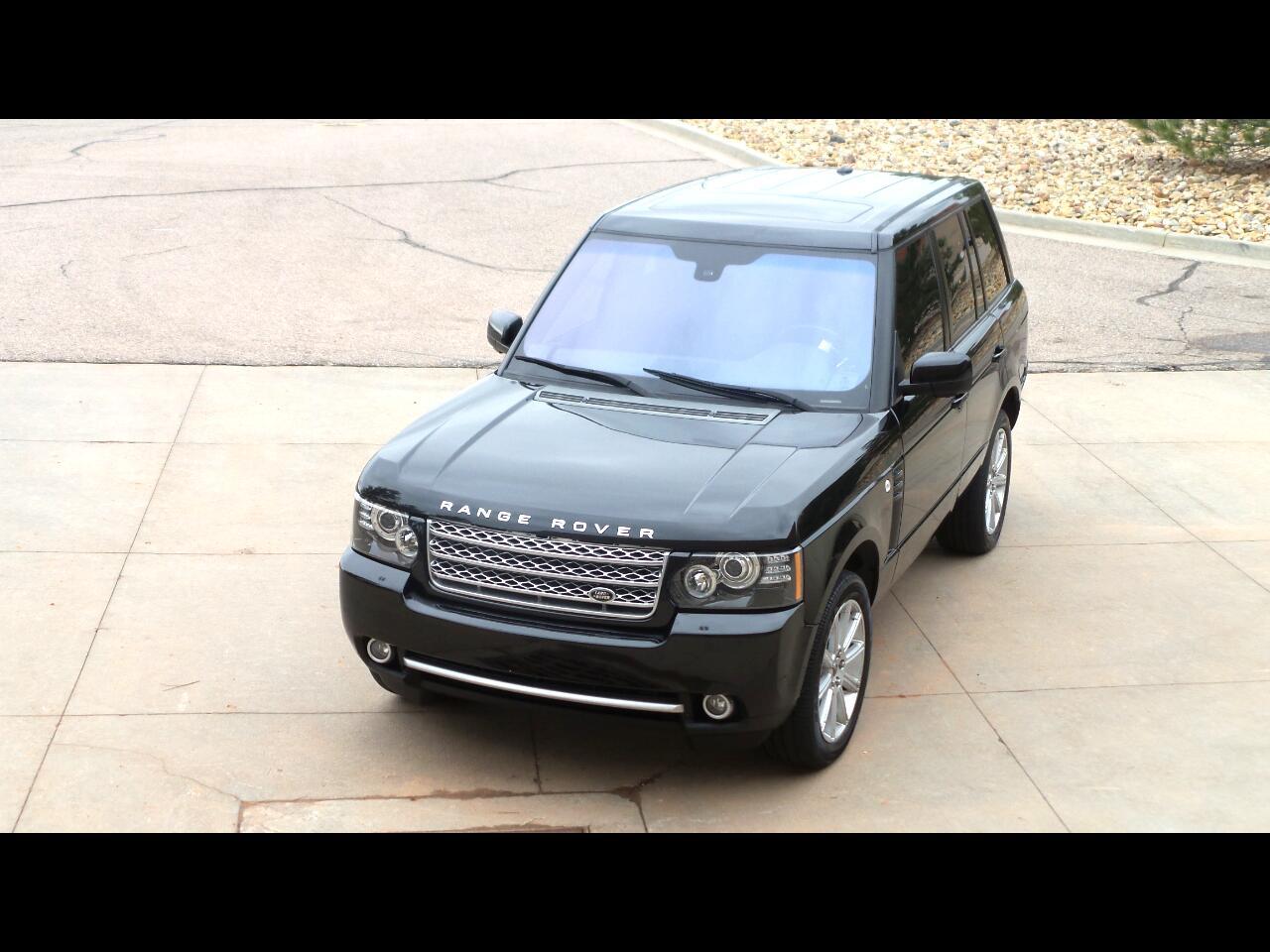 2012 Land Rover Range Rover V8 Supercharged SWB