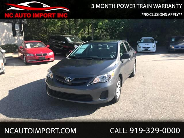 2011 Toyota Corolla 4dr Sdn CE Manual (Natl)