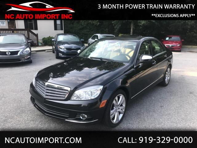 2009 Mercedes-Benz C-Class C300 4MATIC Luxury Sedan