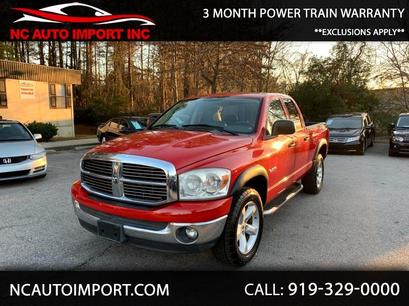 2008 Dodge Ram 1500 BIG HORNE QUAD CAB 4WD