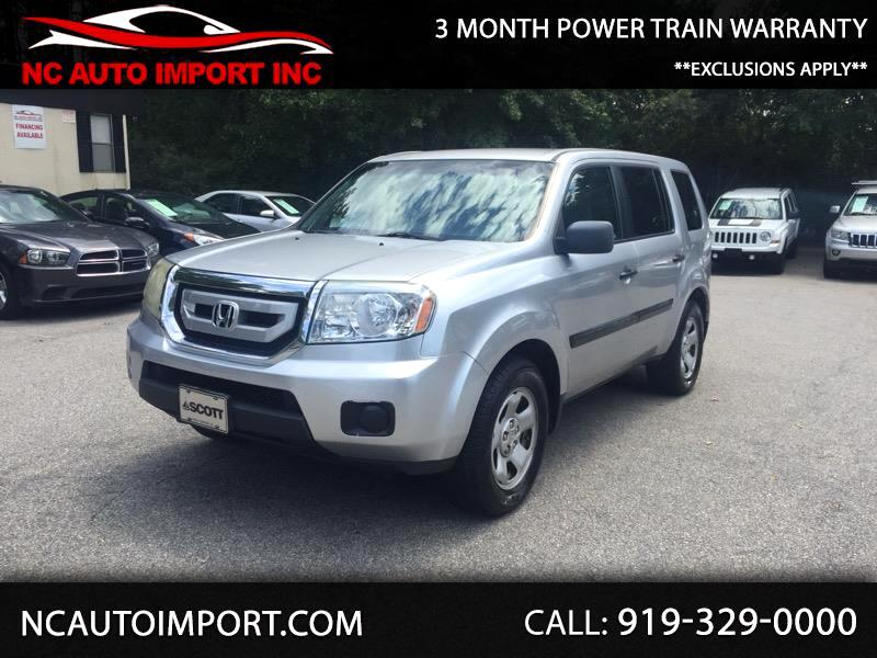 2011 Honda Pilot LX 4WD 5-Spd AT