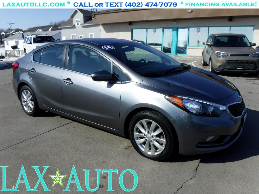 2014 Kia Forte EX Sedan * 39k Miles * Back-up Cam! 1-Owner Carfax