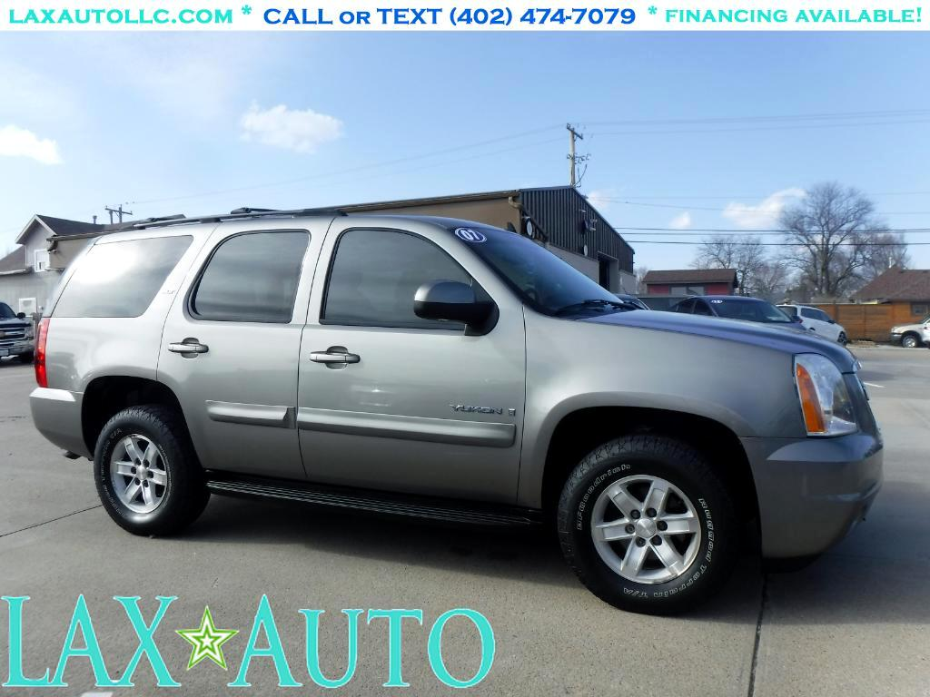 2007 GMC Yukon SLT-2 4WD * 3rd Row! Rear DVD/VIDEO * 170k Miles *