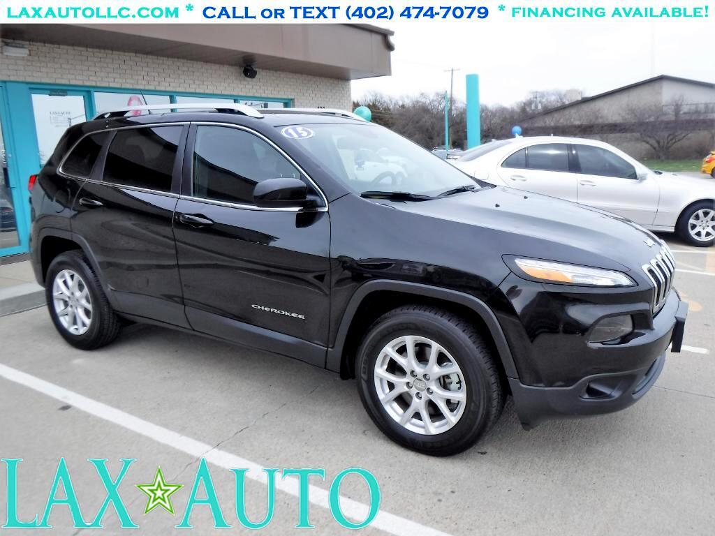 2015 Jeep Cherokee Latitude 4WD V6 SUV * Only 16k miles! * Black*