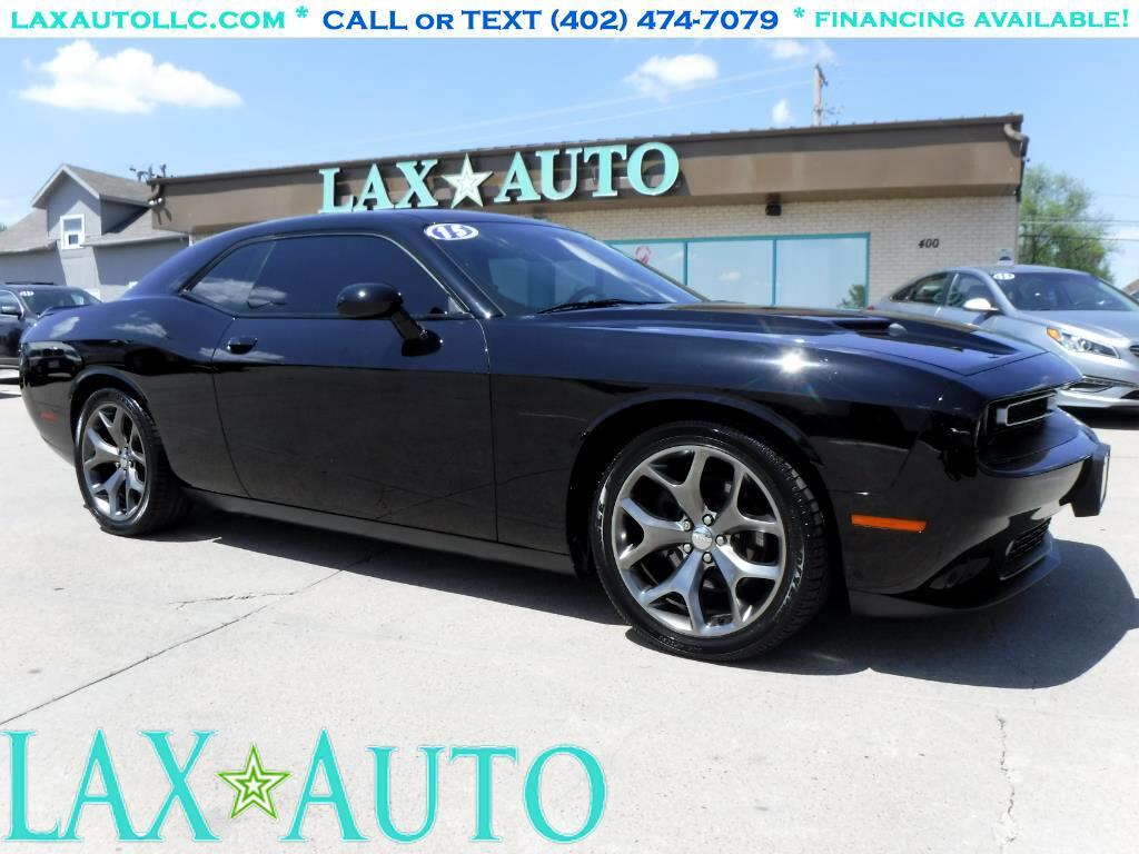 2015 Dodge Challenger SXT Coupe * Only 26k miles! *Black*