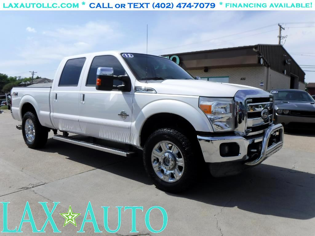 2012 Ford F-250 SD Lariat CrewCab 4WD * FX4 Offroad * LOADED! *