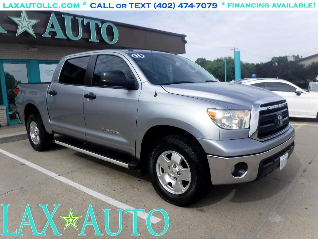 2011 Toyota Tundra CrewMax 4.6L 2WD * Only 63k Miles! * Back-up cam!