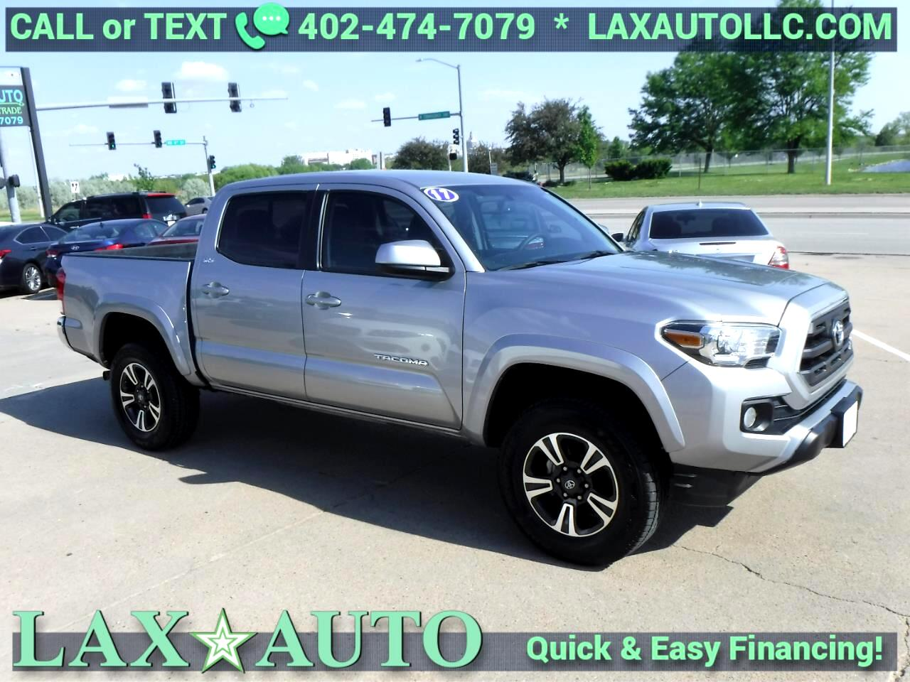 2017 Toyota Tacoma SR5 Double Cab V6 * Only 4,775 miles! *