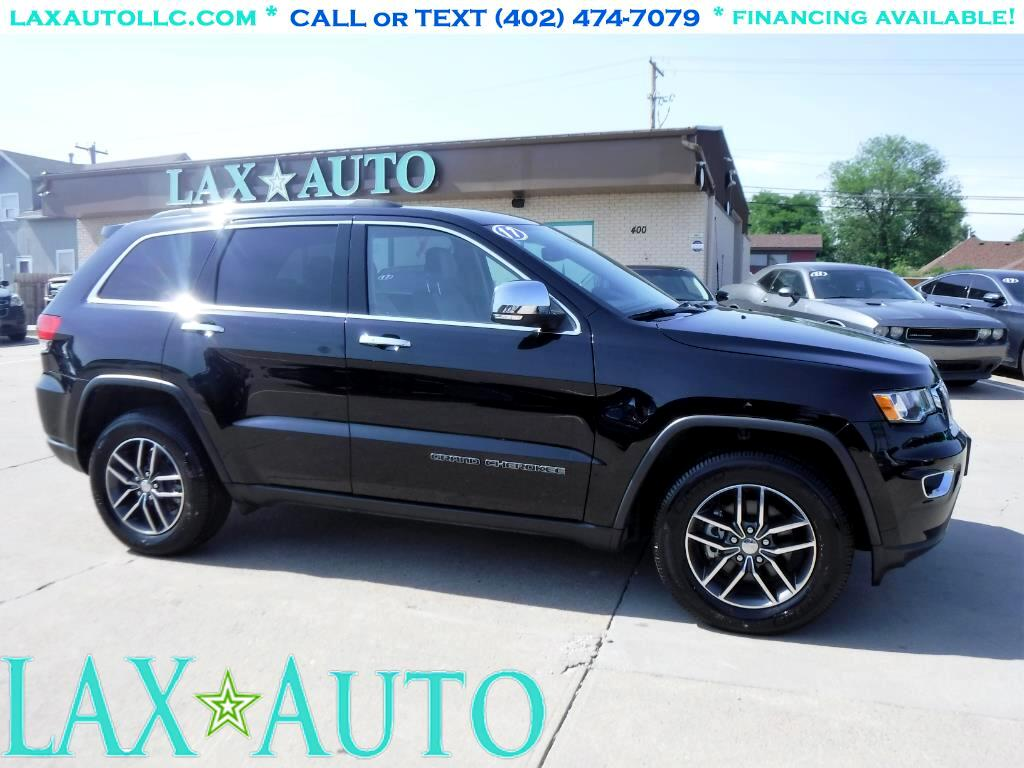 2017 Jeep Grand Cherokee Limited Edition 2WD * Only 8k Miles! * Loaded! *