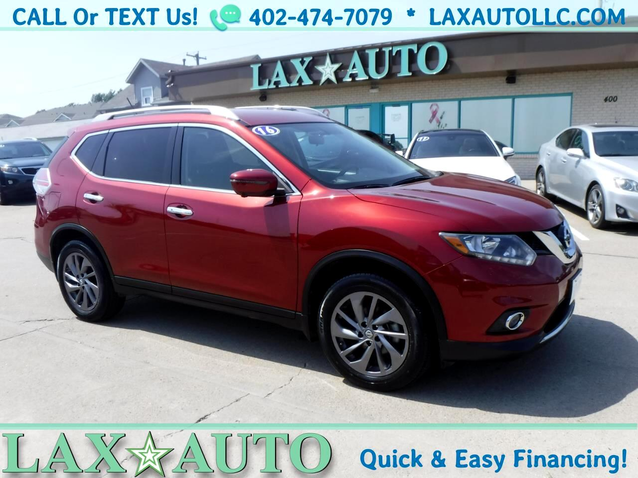 2016 Nissan Rogue SL SUV * 45k miles * Navi! Back-up Cam! Loaded! *